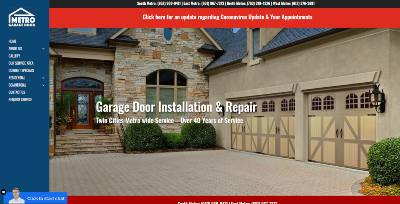 Metro Garage Door Company In Minneapolis